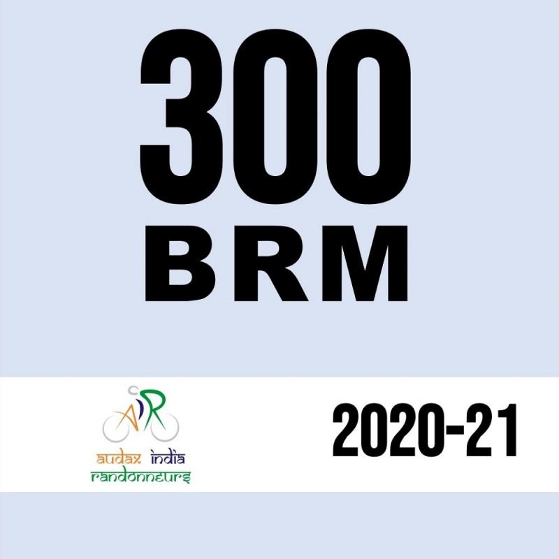 Madras Randonneurs 300 BRM on 12 Dec 2020