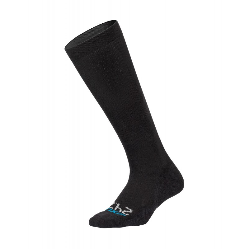 2XU 24/7 Compression Socks Black/Black