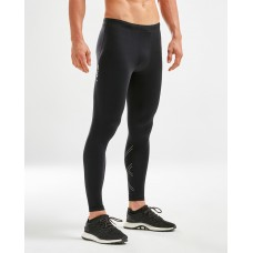 2XU Aspire Mens Compression Tight Black/Silver