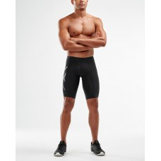 2XU Compression Shorts Black/Silver