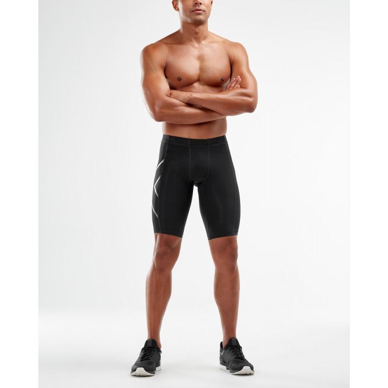 2XU Compression Shorts Black/Silver