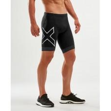 2XU Compression Triathlon Short Black/Black