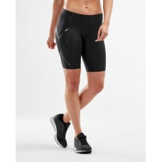 2XU Core Compression Women Short Black/Silver