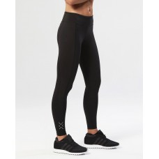 2XU Fitness Mid-Rise Compression Women Tights Black/Silver