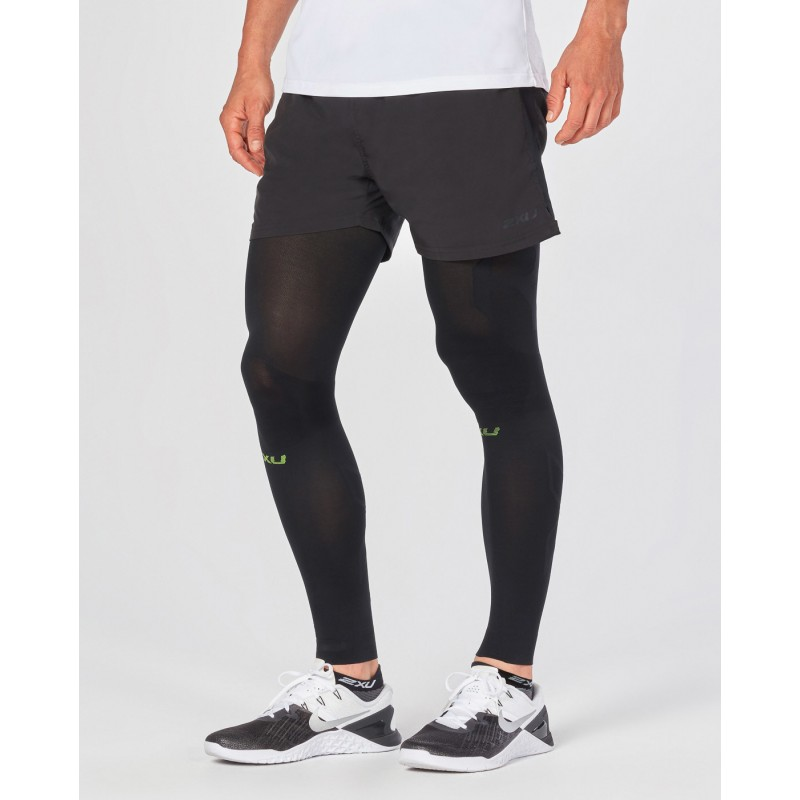 2XU Flex Compression Leg Sleeves For Recovery Black/Nero