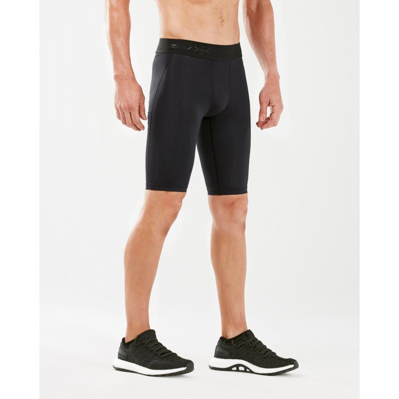 2XU Force MCS Training Compression Shorts Black/Gold