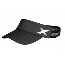 2XU Performance Visor OSFA Black/Black