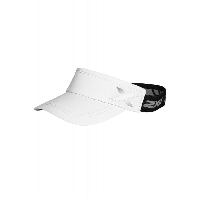 2XU Performance Visor OSFA White/White