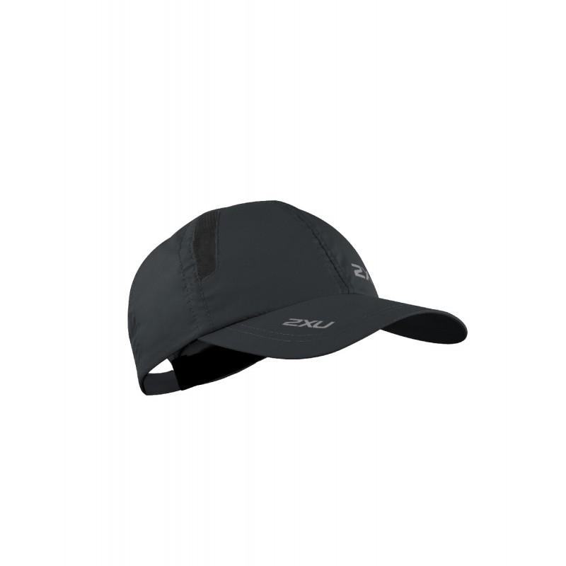2XU Running Cap OSFA Black/Black