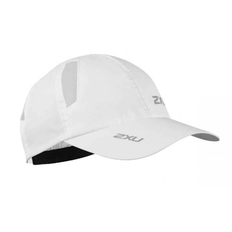 2XU Running Cap OSFA White/White