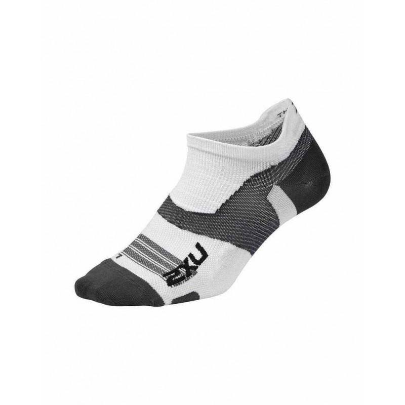 2XU Vectr Ultralight Compression Socks White/Grey