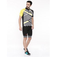 2GO Comfort Fit Men Cycling Jersey Celery (GCJ-CF-022)