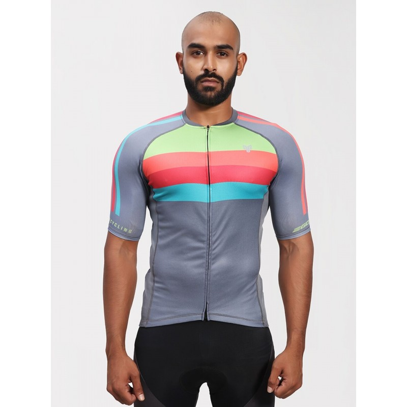 2GO Cycling Jersey Ash