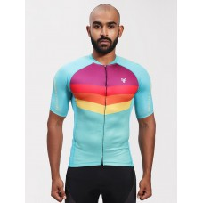 2GO Cycling Jersey Cadet Blue