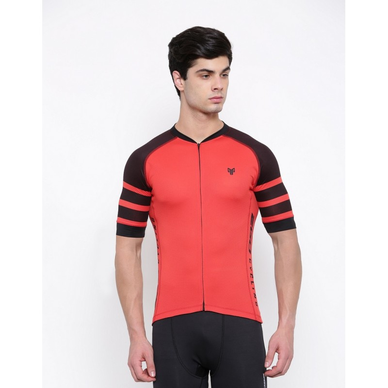 2GO Cycling Jersey Cardio Red