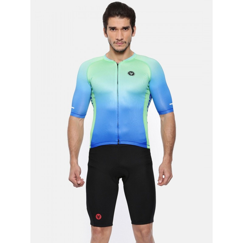 2GO Cycling Jersey Green