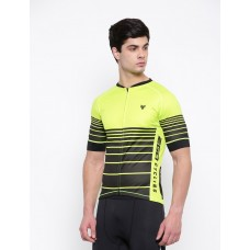 2GO Cycling Jersey Lemon Green
