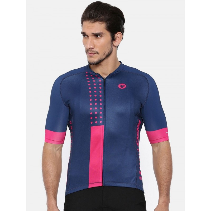 2GO Cycling Jersey Navy