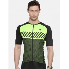 2GO Cycling Jersey Neon Green