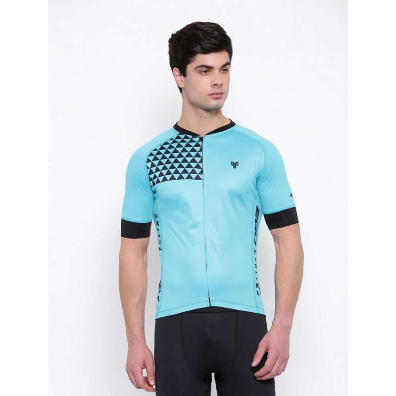 2GO Cycling Jersey Turquoise