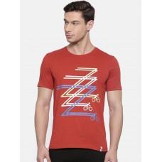 2GO Cycling T-Shirt Burnt Orange