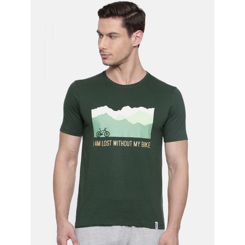 2GO Cycling T-Shirt Forest Green