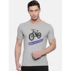 2GO Cycling T-Shirt Grey Melange