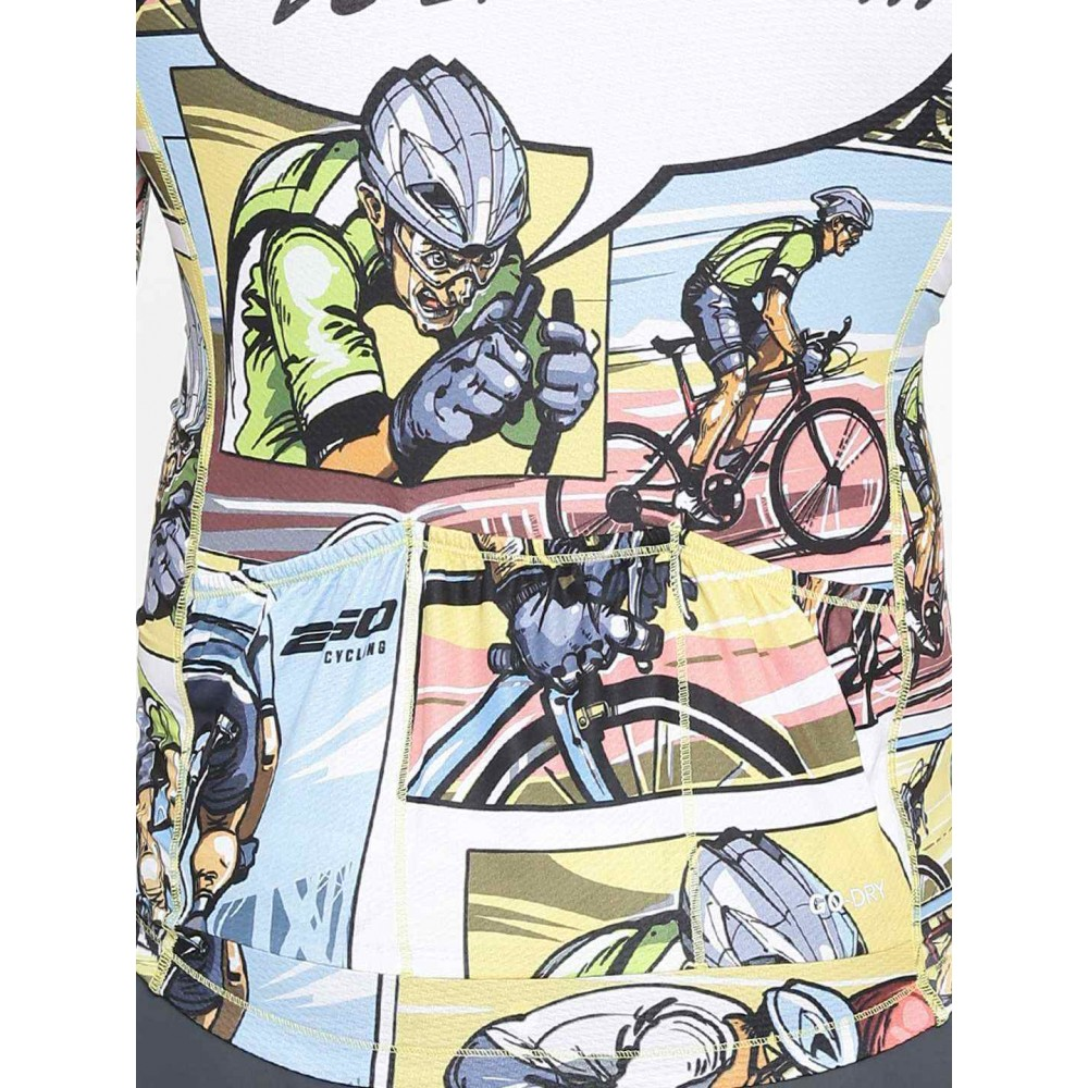 Buy 2GO Do Epic Shit Race Fit Cycling Jersey Celery Online