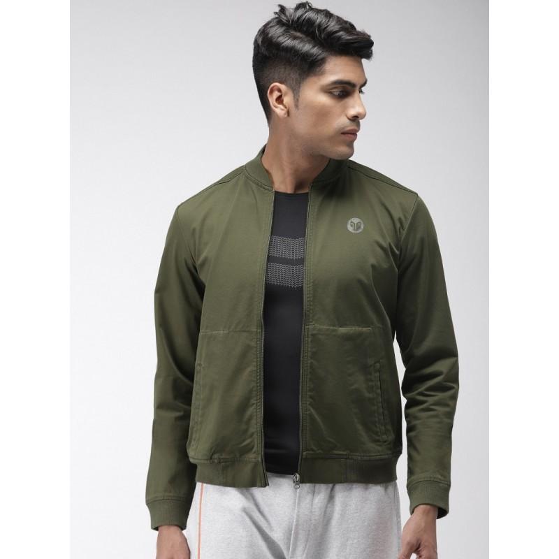 2GO Men Casual Jacket Olive (EL-GJK520)