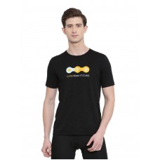 2GO Men Cycling Inspired T-shirt Bold Black