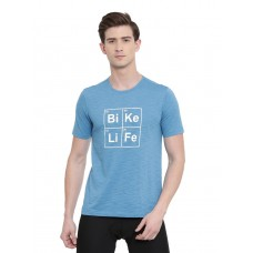 2GO Men Cycling Inspired T-shirt Ocean