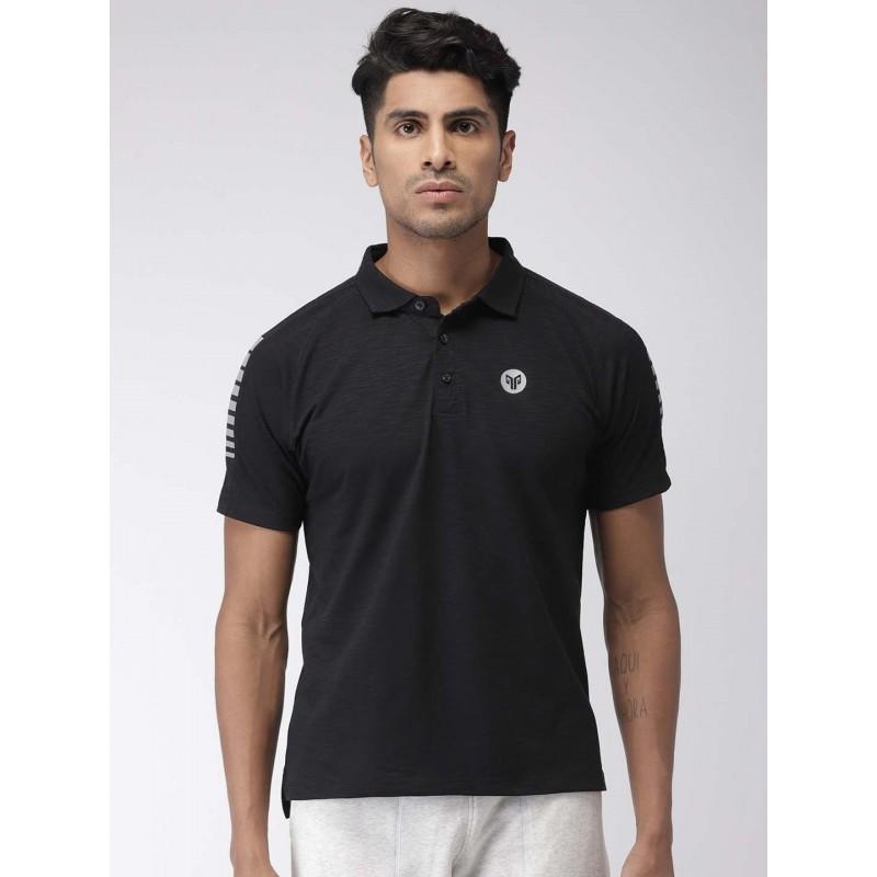 2GO Men Essential T-shirt Bold Black (EL-GTS373-S9)