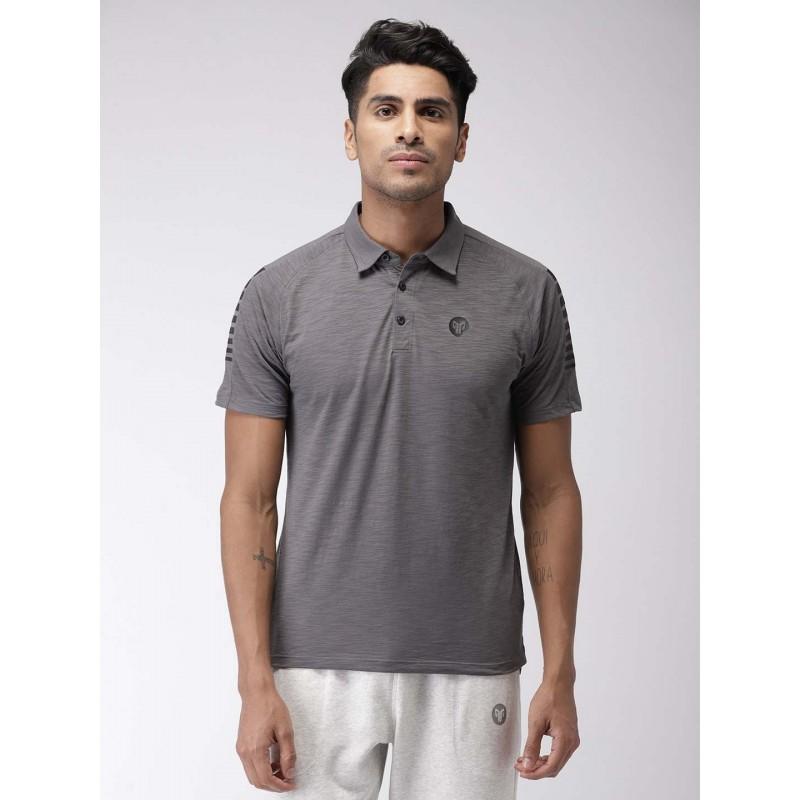 2GO Men Essential T-shirt Shark Grey (EL-GTS373-S9)