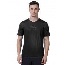 2GO Men Fashion T-shirt Black (EL-GTS473-A9)