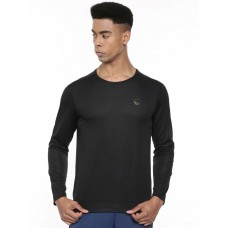 2GO Men Full Sleeve Sports T-Shirt Bold Black (EL-GTS416-A9)