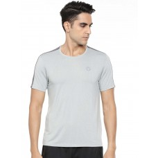 2GO Men Round Neck Half sleeves Sports T-Shirt Squirrel Grey (EL-GTS321-A9)