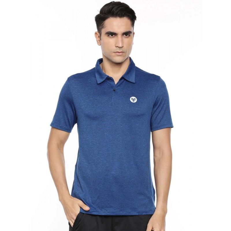 2GO Men Polo Neck Short Sleeves T-Shirt Sapphire Blue (EL-GTS415-A9)