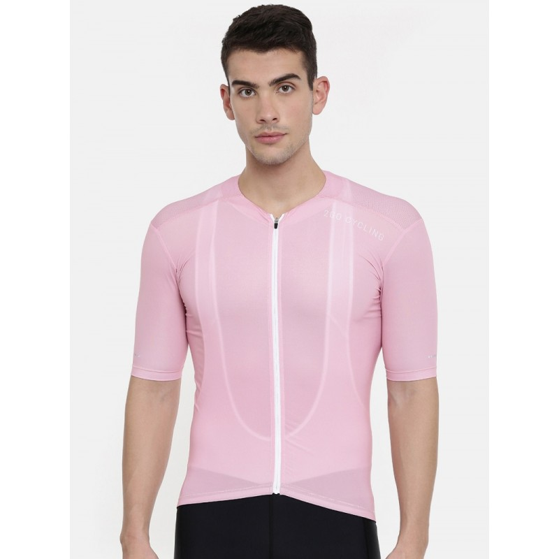 2GO Men Race Fit Cycling Jersey Pink (GCJ-RF-026)