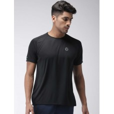 2GO Men Running T-Shirt Bold Black (EL-GTS354-S9)