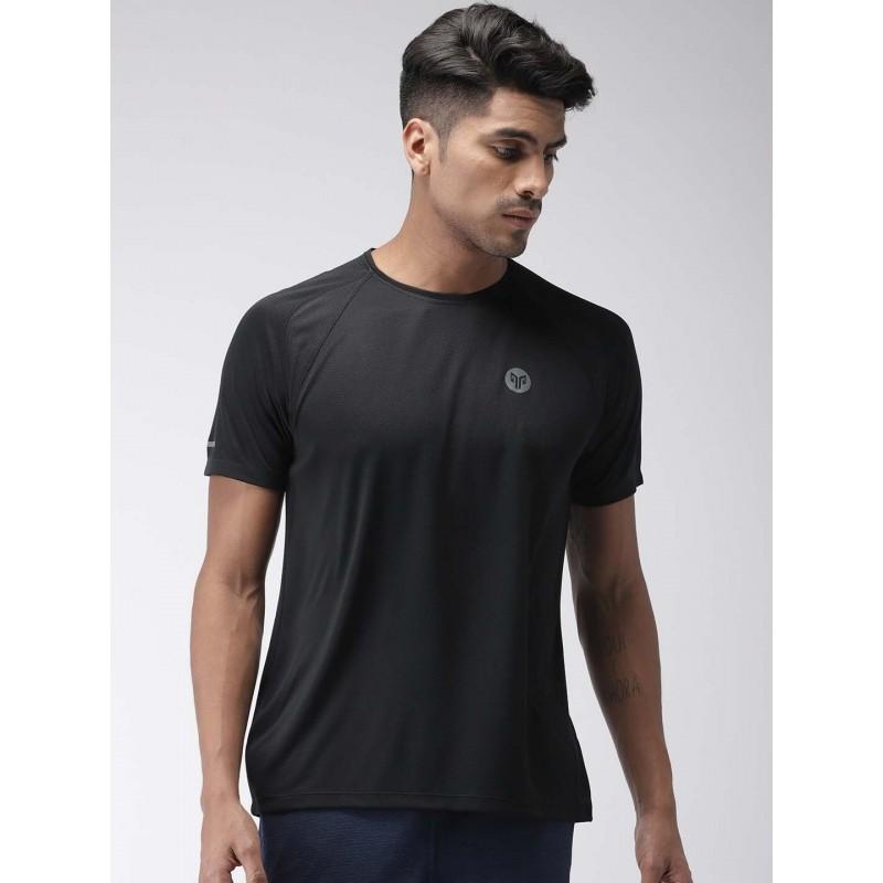 2GO Men Running T-Shirt Bold Black (EL-GTS354-S9)
