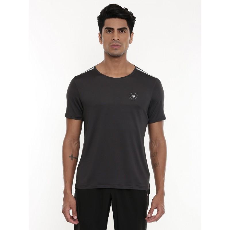 2GO Men Running T-shirt Charcoal (EL-GTS433-A9)