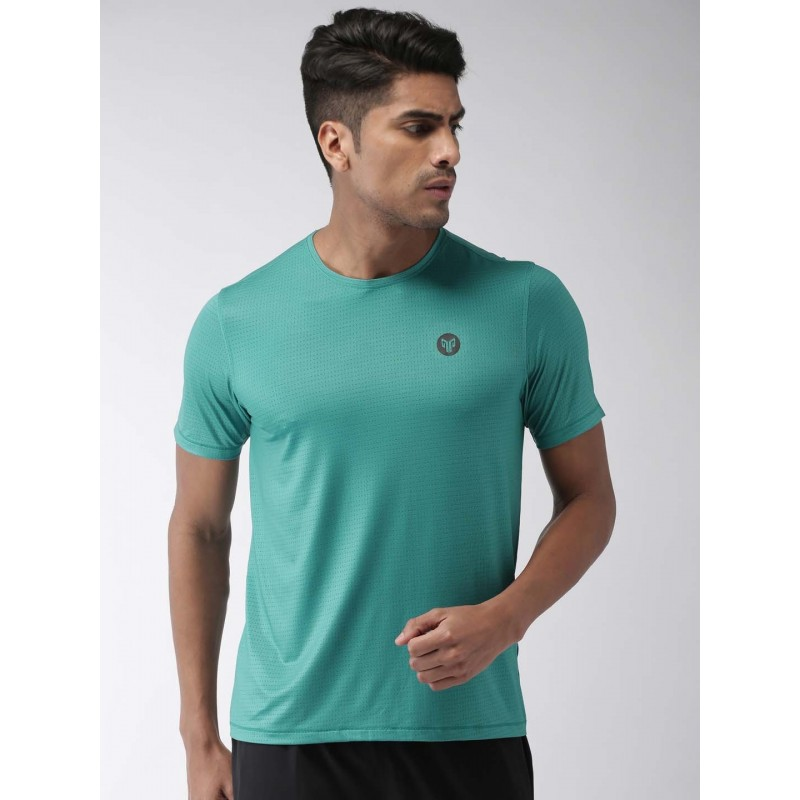 2GO Men Running T-Shirt Forest Green (EL-GTS355-S9)
