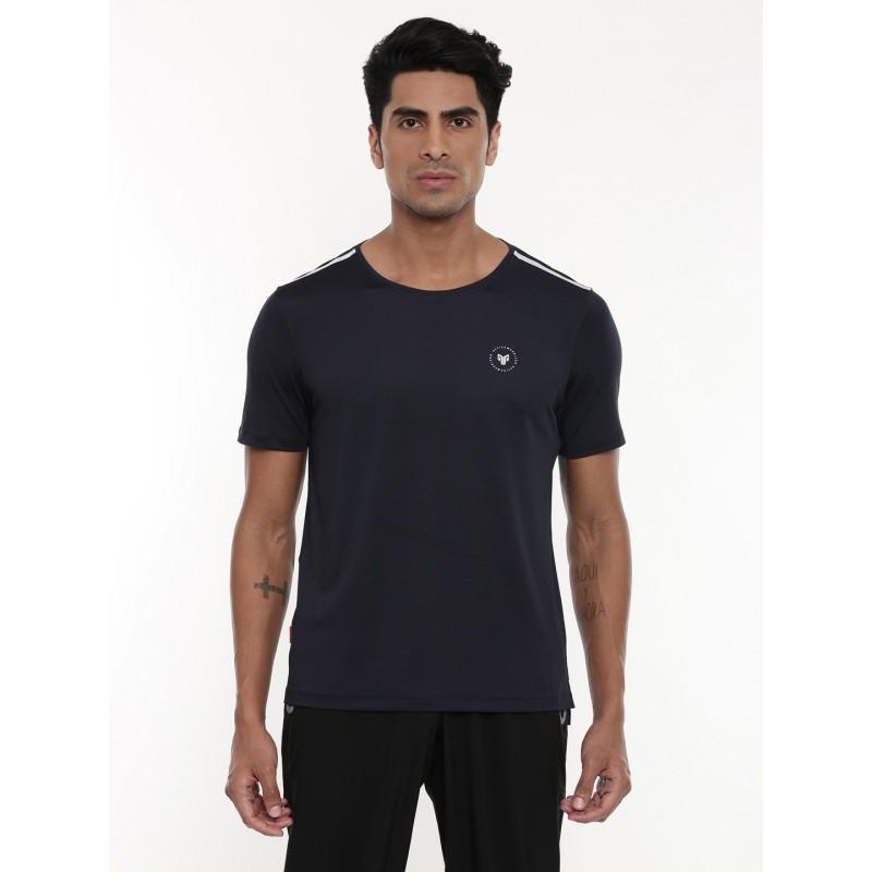 2GO Men Running T-shirt Navy (EL-GTS433-A9)