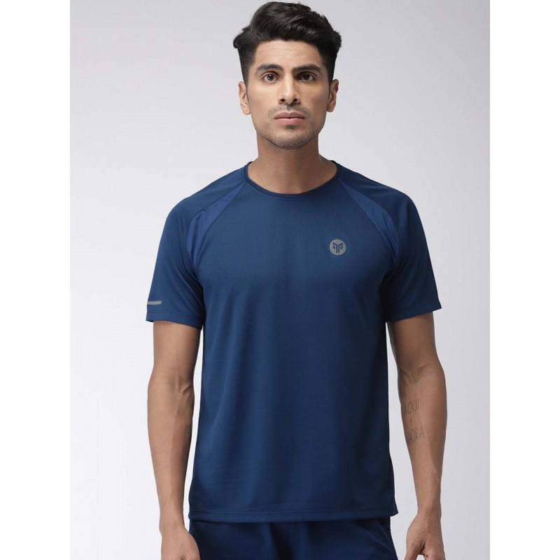 2GO Men Running T-Shirt Prussian Blue (EL-GTS354-S9)