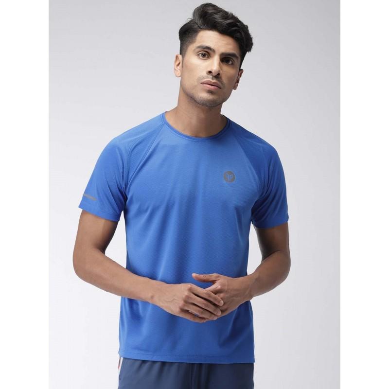 2GO Men Running T-Shirt Sapphire Blue (EL-GTS354-S9)