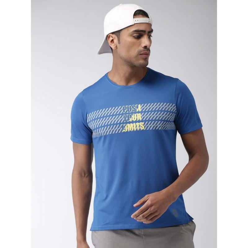 2GO Men Running T-Shirt Sapphire Blue (EL-GTS356-S9)
