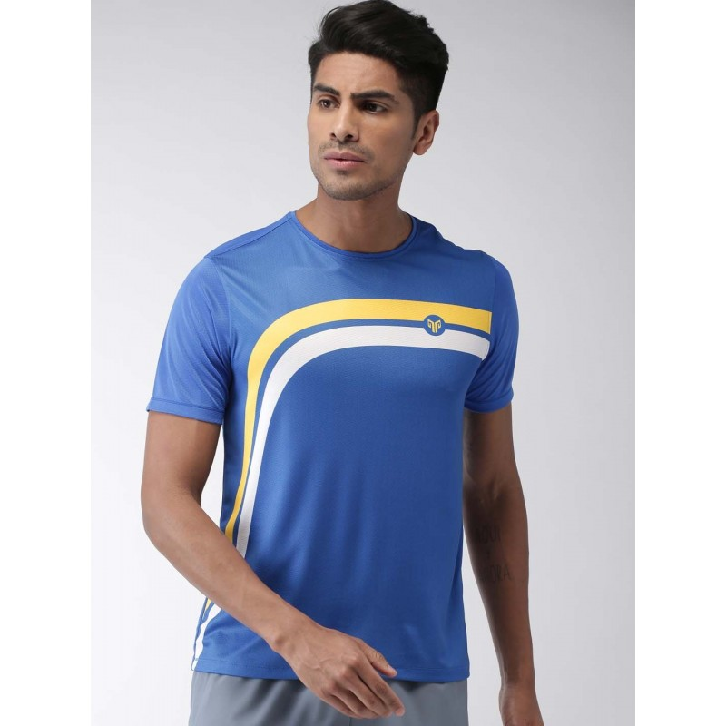 2GO Men Running T-shirt Sapphire Blue (EL-GTS358-S9)