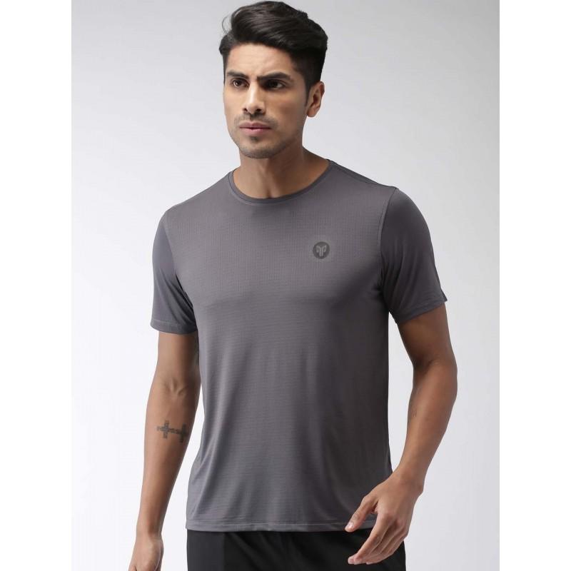 2GO Men Running T-Shirt Shark Grey (EL-GTS355-S9)
