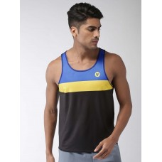 2GO Men Running Vest Bold Black (EL-GVS333-S9)