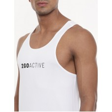 2GO Men Running Vest White (EL-GVS425-A9)